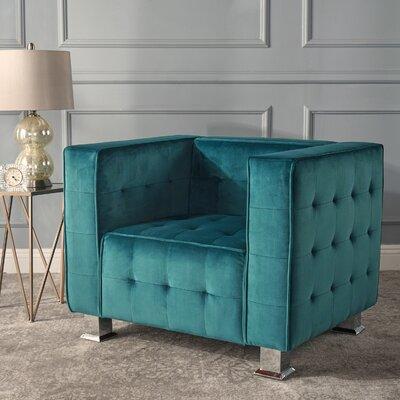 Beachdale Armchair Upholstery: Dark Teal