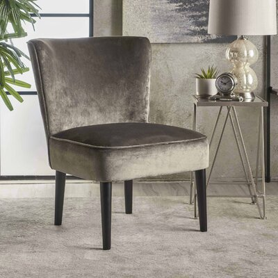 Dagnall Side Chair Upholstery: Gray