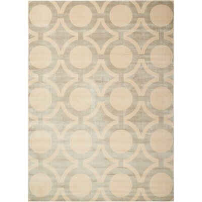 Chaudeville Cream Gray Rug Rug Size: Rectangle 76 x 106