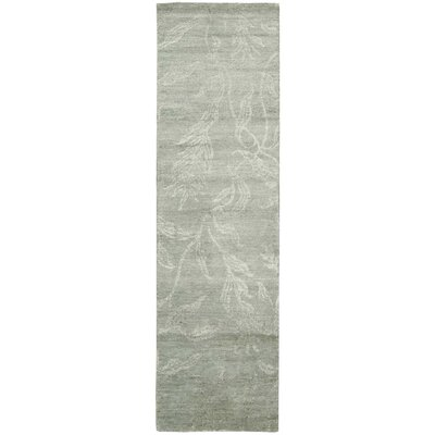 Preminger Hand-Knotted Gray Area Rug Rug Size: Runner 23 x 8