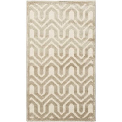 Beaconsfield Ivory/Light Gray Area Rug Rug Size: Rectangle 22 x 39