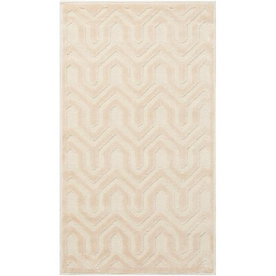 Beaconsfield Ivory/Sand Area Rug Rug Size: Rectangle 22 x 39
