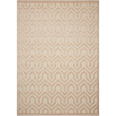 Beaconsfield Ivory/Sand Area Rug Rug Size: Rectangle 53 x 73
