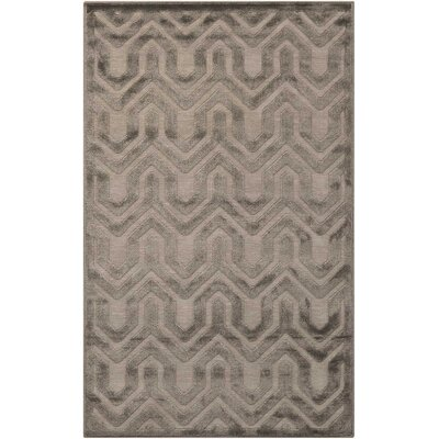 Beaconsfield Silver/Gray Area Rug Rug Size: Rectangle 26 x 4