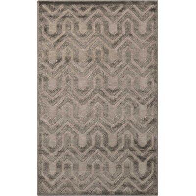 Beaconsfield Silver/Gray Area Rug Rug Size: Rectangle 26 x 4