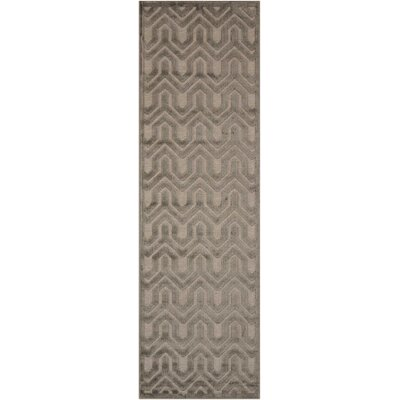 Beaconsfield Silver/Gray Area Rug Rug Size: Runner 22 x 7