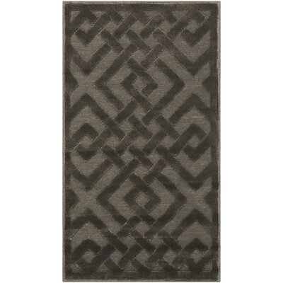 Beaconsfield Silver/Gray Area Rug Rug Size: Rectangle 22 x 39