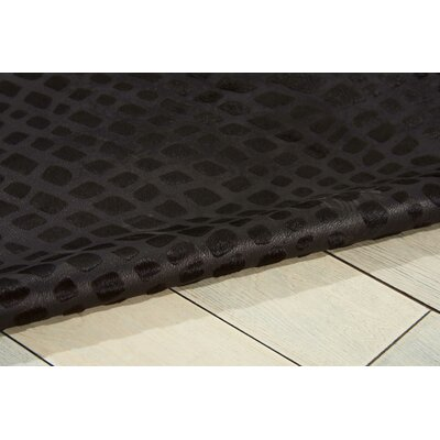 Bretta Black Area Rug