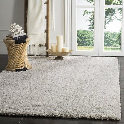 Zane Light Gray/Gray Area Rug Rug Size: Rectangle 53 x 76