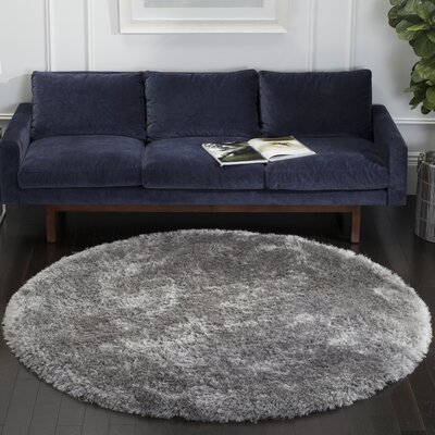Jayne Hand Tufted Gray Area Rug Rug Size: Rectangle 5 X 8