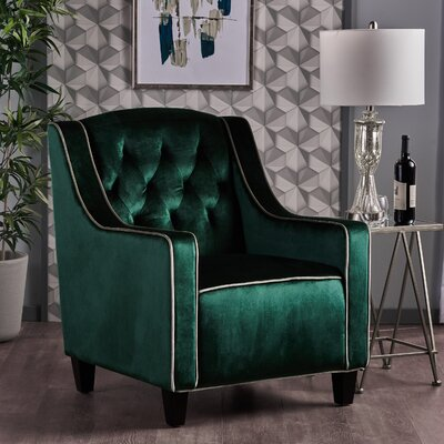 Pell Club Chair Upholstery : Emerald