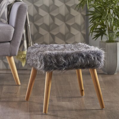 Belfield Ottoman Upholstery: Gray