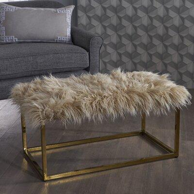 Rojas Ottoman Upholstery: Beige