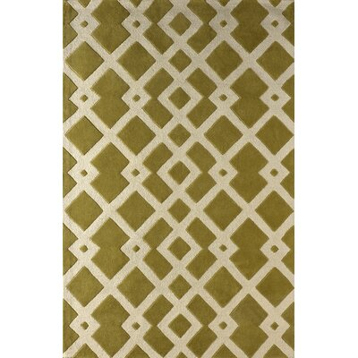 Glenside Hand-Tufted Pear Area Rug Rug Size: Rectangle 5 x 8