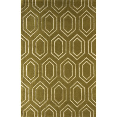 Graceland Hand-Tufted Pear Area Rug Rug Size: Rectangle 5 x 8