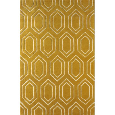 Graceland Hand-Tufted Horseradish Area Rug Rug Size: Rectangle 4 x 6