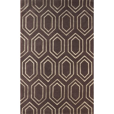 Graceland Hand Tufted Dark Iris Area Rug Rug Size: Rectangle 5 x 8