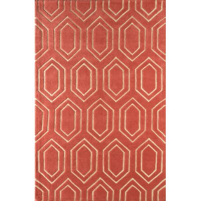 Graceland Hand-Tufted Sorbet Area Rug Rug Size: Rectangle 8 x 10