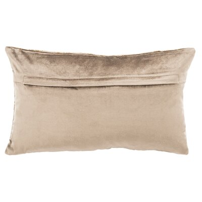 Wyona Throw Pillow Color: Potato Brown/Copper, Size: 12 H x 20 W