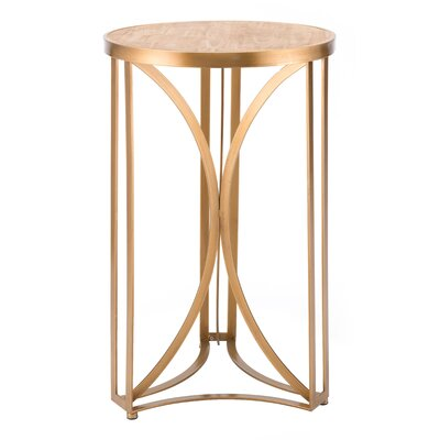 Caspian Spinner End Table