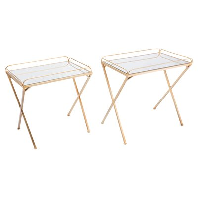 Chamberlin Opposite 2 Piece Nesting Tables