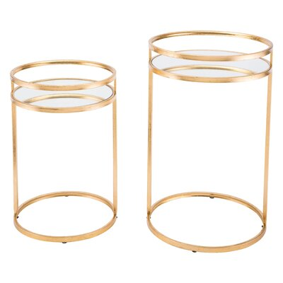 Cadbury 2 Piece Nesting Tables