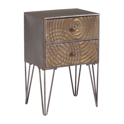 Briarcliffe Circulos End Table with Storage
