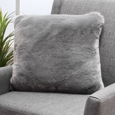 Stony Stratford Plush Fabric Throw Pillow Color: Sterling