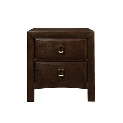 Schuyler 2 Drawer Nightstand