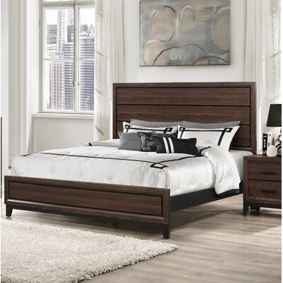 Schuyler Panel Bed Size: King