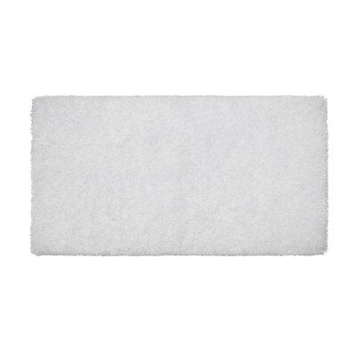 Nasim White Area Rug Rug Size: Runner 19 x 49