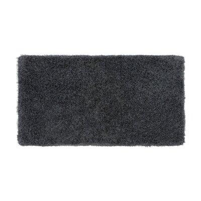 Nasim Charcoal Area Rug Rug Size: Runner 19 x 49