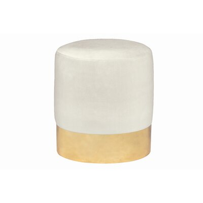Ellaline Ottoman Upholstery: Light Cream