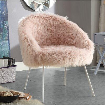 Tiffany Barrel Chair Color: Rose
