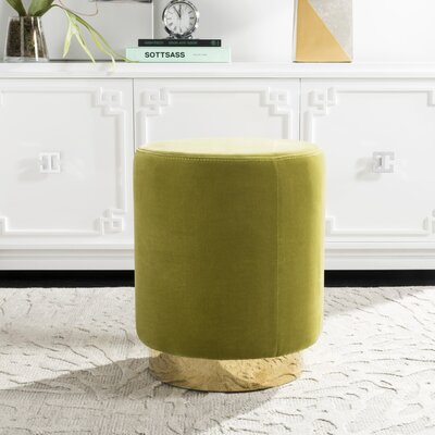 Haynie Ottoman Upholstery: Green