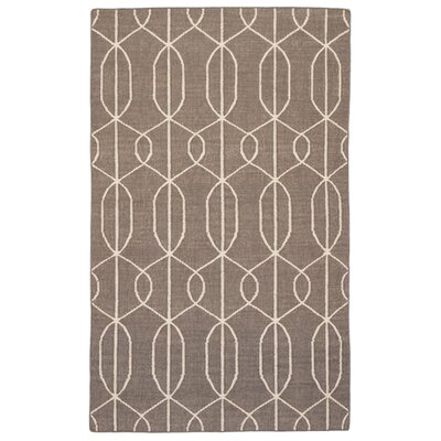 Dianne Hand-Woven Brown Area Rug Rug Size: Rectangle 5 x 8
