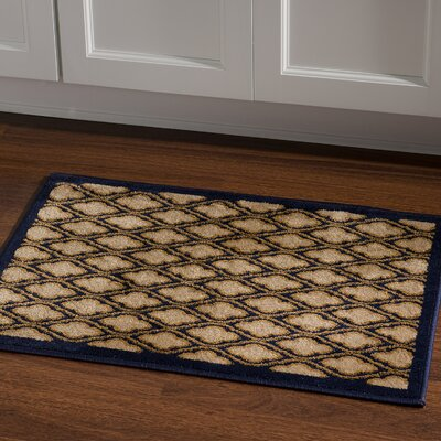 Lotz Yellow/Black Area Rug Rug Size: Rectangle 2 x 3