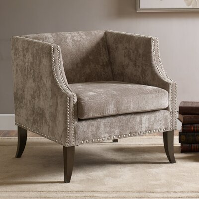Blakely Armchair Upholstery: Brown