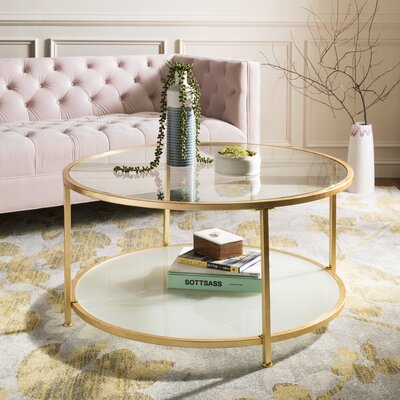 Hodnett 2 Tier Round Coffee Table
