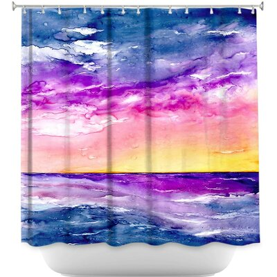 Tormenta Waves Shower Curtain