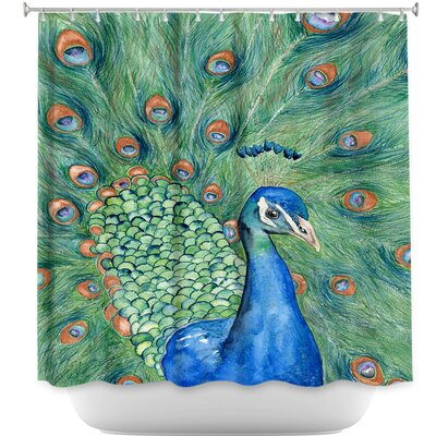 Splendor Peacock Shower Curtain