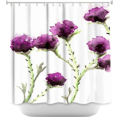 Milk Thistle Shower Curtain