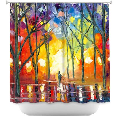 Reflections of the Soul Shower Curtain