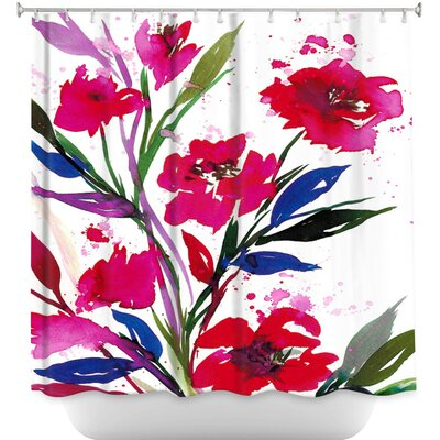 Pocketful Posies Shower Curtain