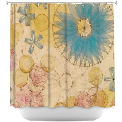 Circle Inspiration Shower Curtain