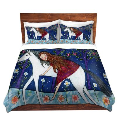 Horse Dreamer Duvet Cover Set Size: Twin