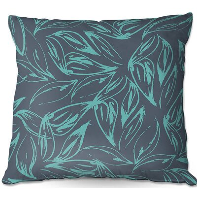 Leafy Layers Throw Pillow Size: 18 H x 18 W x 5 D
