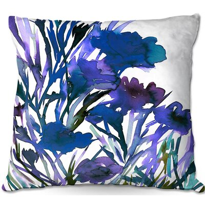 Julia Di Sano Petal Thoughts Throw Pillow Size: 16 H x 16 W x 4 D