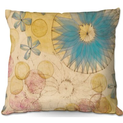 Paper Mosaic Studio Circle Inspiration Throw Pillow Size: 16 H x 16 W x 4 D