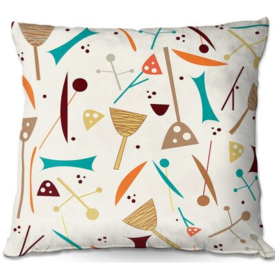 Mid Century Hero Throw Pillow Size: 22 H x 22 W x 5 D